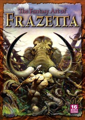 2019 the Fantasy Art of Frazetta 16-Month Wall Calendar