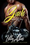 Book cover for Zach (Hell's Handlers MC, #1)