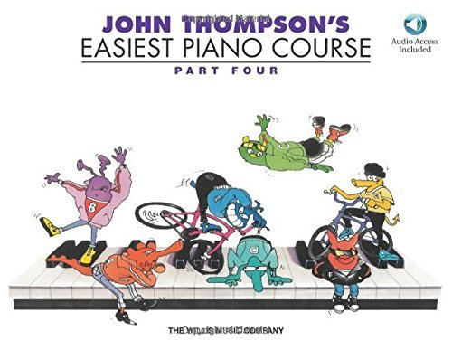 John Thompson's Easiest Piano Course - Part 4 - Book/Audio