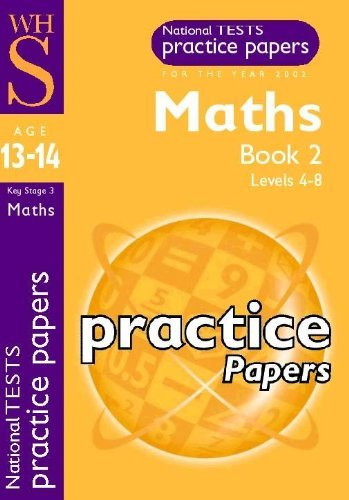 WHS Practice papers. Maths Book 2. Levels 4-8. For year 2002