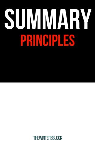 Summary: Principles - Life and Work