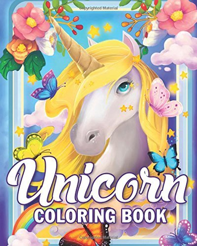 Unicorn Coloring Book: An Adult Coloring Book for Fun, Relaxation and Stress Relief Featuring Beautiful Unicorn Designs