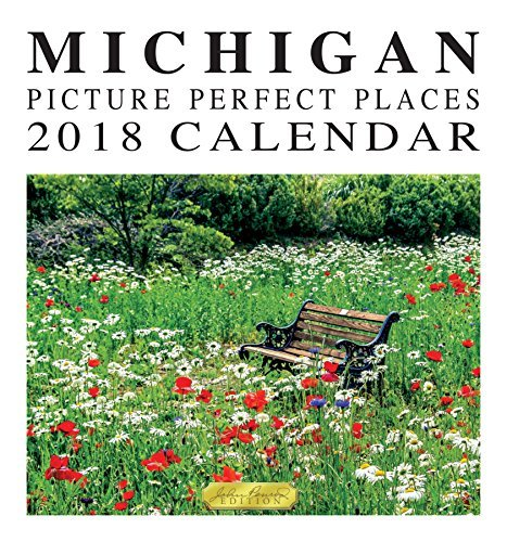 2018 Michigan Picture Perfect Places Wall Calendar