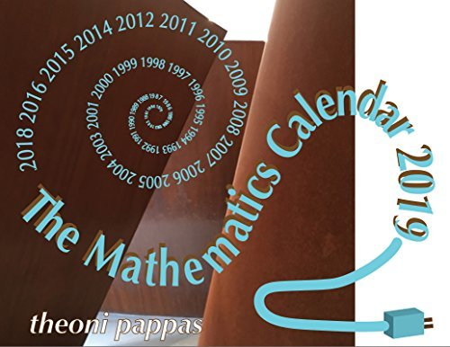 The Mathematics 2019 Calendar
