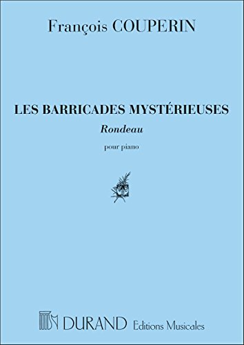 Les Barricades Mysterieuses Piano