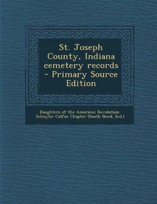 St. Joseph County, Indiana cemetery records
