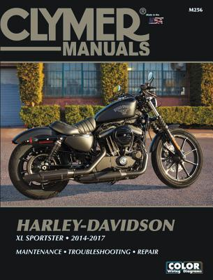 Harley-Davidson XL Sportster 2014-2017 Clymer Repair Manual