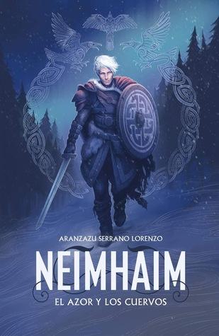 portada de la novela de fantasía épica Neimhaim, El azor y los cuervos