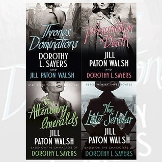 Lord Peter Wimsey Series Collection Dorothy L Sayers and Jill Paton Walsh 4 Books Set