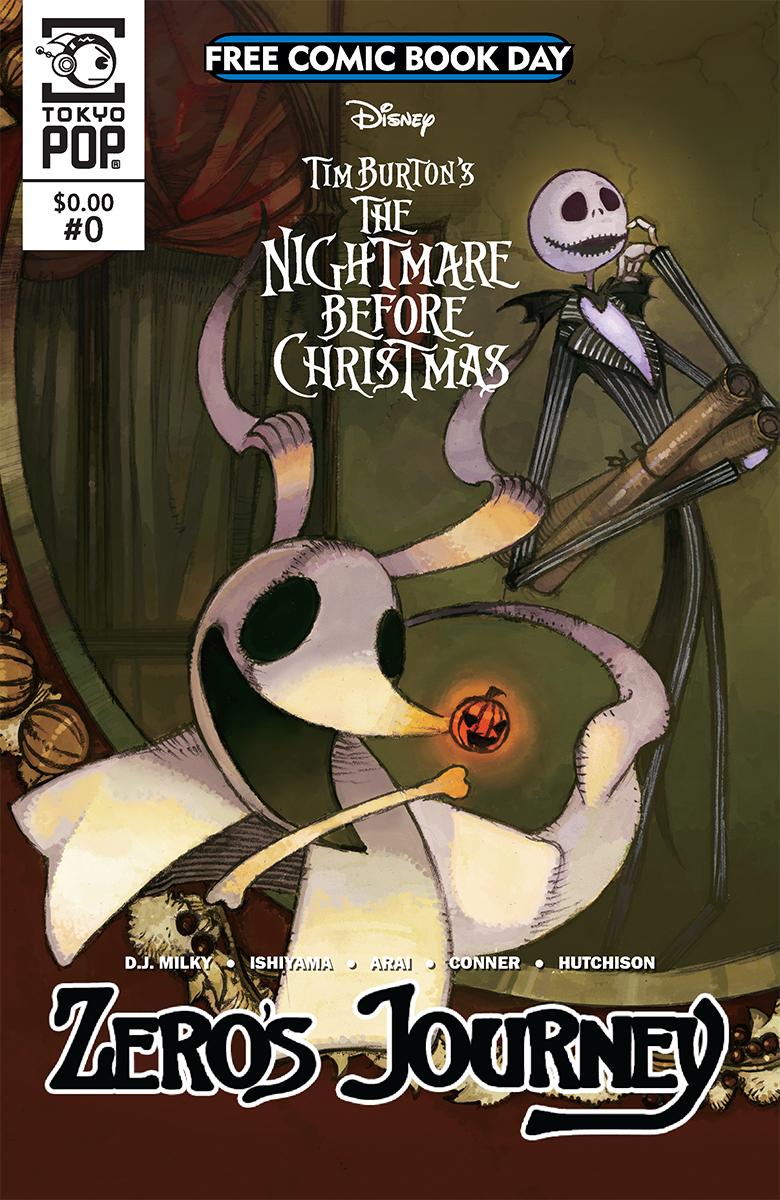 The Nightmare Before Christmas: Zero's Journey #0 (FCBD 2018)