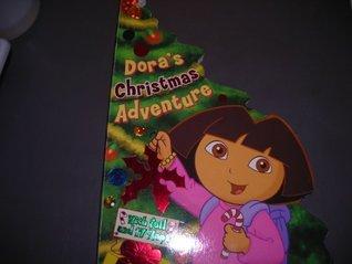 Dora's Christmas Adventure (With Foil and 17 Flaps!) (Nick Jr. Dora the Explorer)