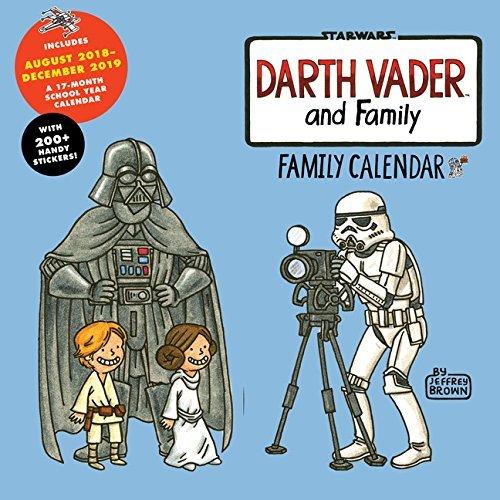 Darth Vader and Family 2019 Family Wall Calendar