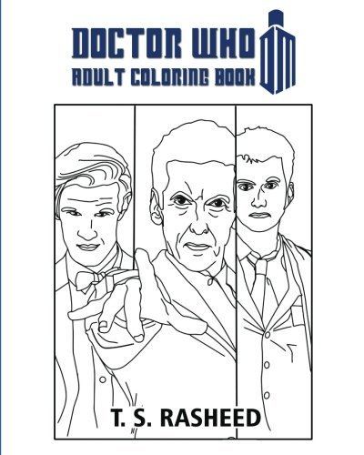 Doctor Who Adult Coloring Book