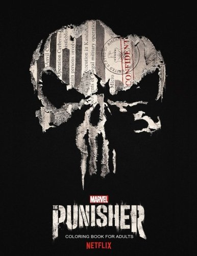 The Punisher Coloring Book: (58 Coloring Pages!)