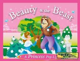 Beauty & The Beast, A Princess Pop Up Book