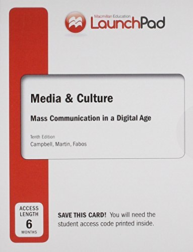 Launchpad for Media & Culture (Six Month Access): An Introduction to Mass Communication