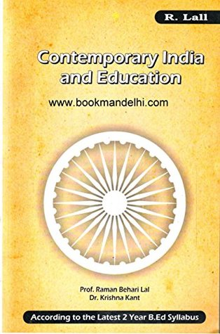 Contemporary India And Education