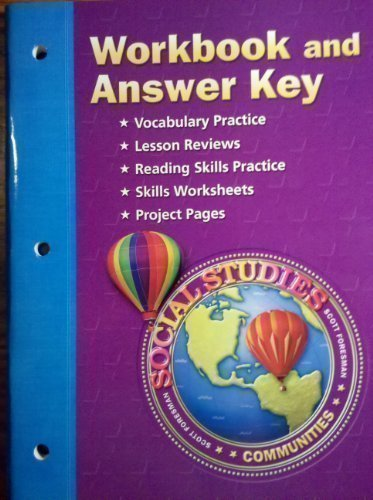 Communities Tn Social Studies Workbook and Answer Key Grade 3