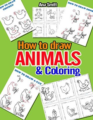 Coloing pages for Kids: How to draw Animals and Coloing pages for Kids