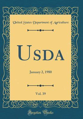 Usda, Vol. 39: January 2, 1980