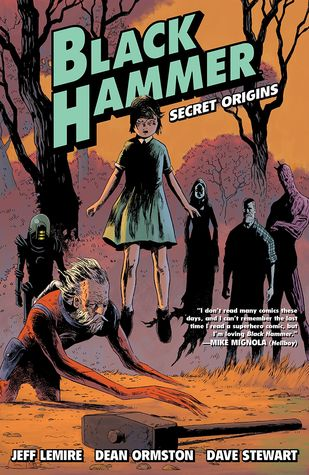 Black Hammer, Vol. 1: Secret Origins cover