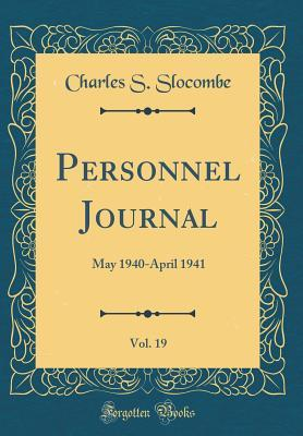Personnel Journal, Vol. 19: May 1940-April 1941