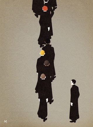 The Long Black Line by John L'Heureux