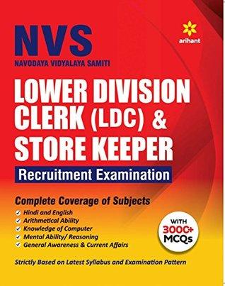 Navodya Vidhyalaya Samiti (LDC) and Store Keeper Recruitment Examination