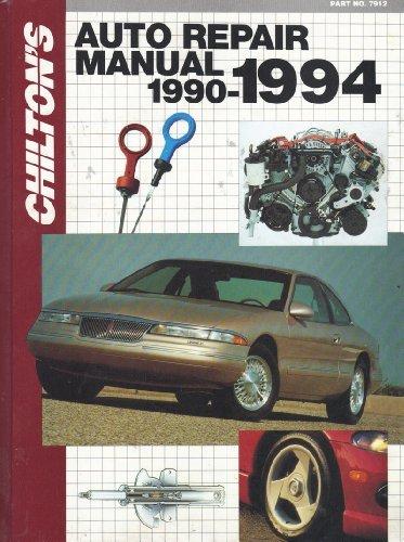 Auto Repair Manual, 1990-94