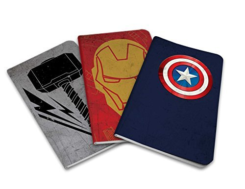 Marvel's Avengers Pocket Notebook Collection (Set of 3)