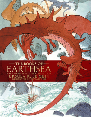 Ursula K. Le Guin's The Books of Earthsea book cover