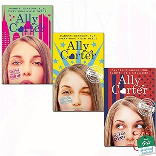 Embassy Row Ally Carter Collection 3 Books Bundle With Gift Journal