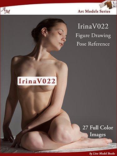 Art Models IrinaV022: Figure Drawing Pose Reference