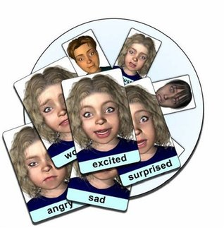 Face-cards C07B: Emotion Expression Flash Cards and CD-ROM pack