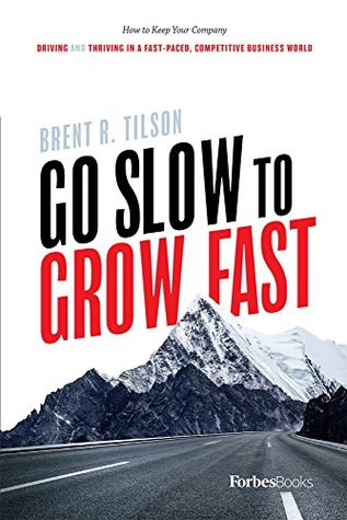 Go Slow To Grow Fast: How to Keep Your Company Driving And Thriving In A Fast-Paced, Competitive Business World