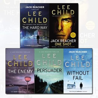 Lee Child's Reacher Series 6-10 Thriller Collection 5 Books Bundle (Without Fail, Persuader, The Enemy, Jack Reacher