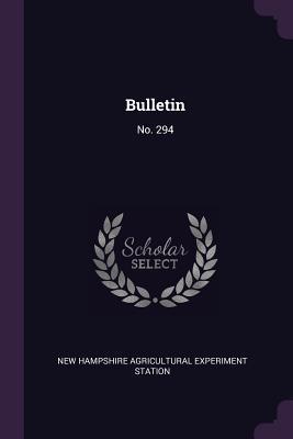 Bulletin: No. 294