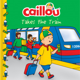 Caillou Takes The Train