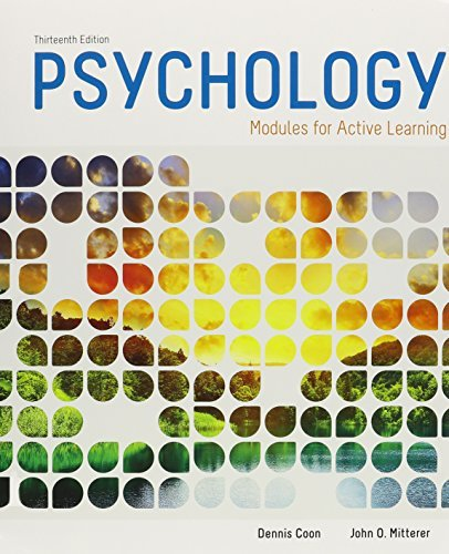 Bundle: Cengage Advantage Books: Psychology, 13th + LMS Integrated for MindTap Psychology, 2 terms (12 months) Printed Access Card