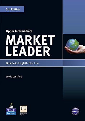Market Leader: Upper Intermediate Market Leader Business English Test File