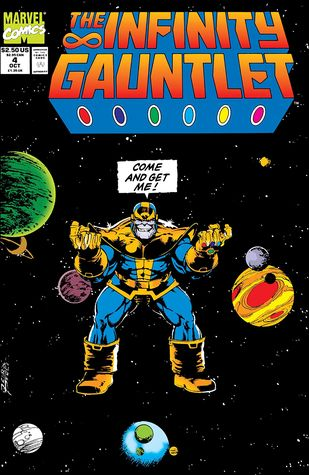 Infinity Gauntlet #4 by Jim Starlin
