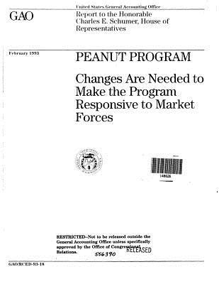 Peanut Program: Changes Are Needed to Make the Program Responsive to Market Forces