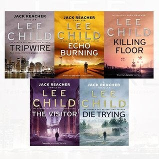 Lee Child Jack Reacher Series 1-5 Collection 5 Books Bundle
