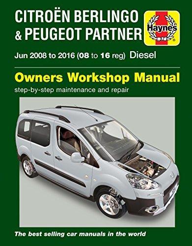 Citroen Berlingo & Peugeot Partner Diesel Owners Workshop Manual 2008-2016