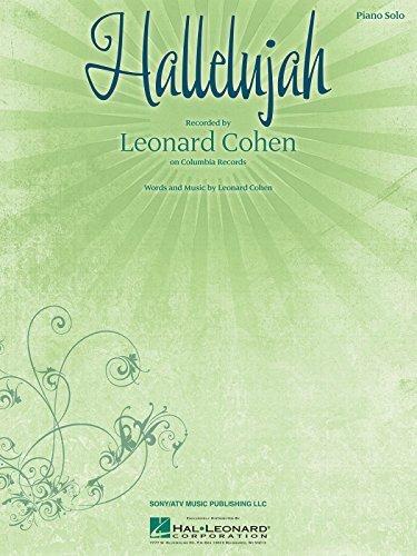 Hallelujah: Piano Solo by Leonard Cohen