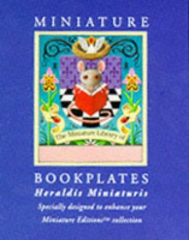Heraldus Miniaturis/24 Bookplates