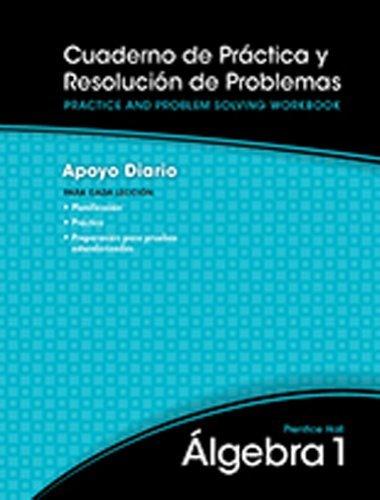 High School Math 2011 Spanish Algebra 1 All-In-One Practice & Problem Solving Workbook Grade 8/9