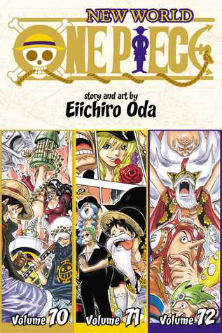 One Piece (Omnibus Edition), Vol. 24: Includes vols. 70, 71  72