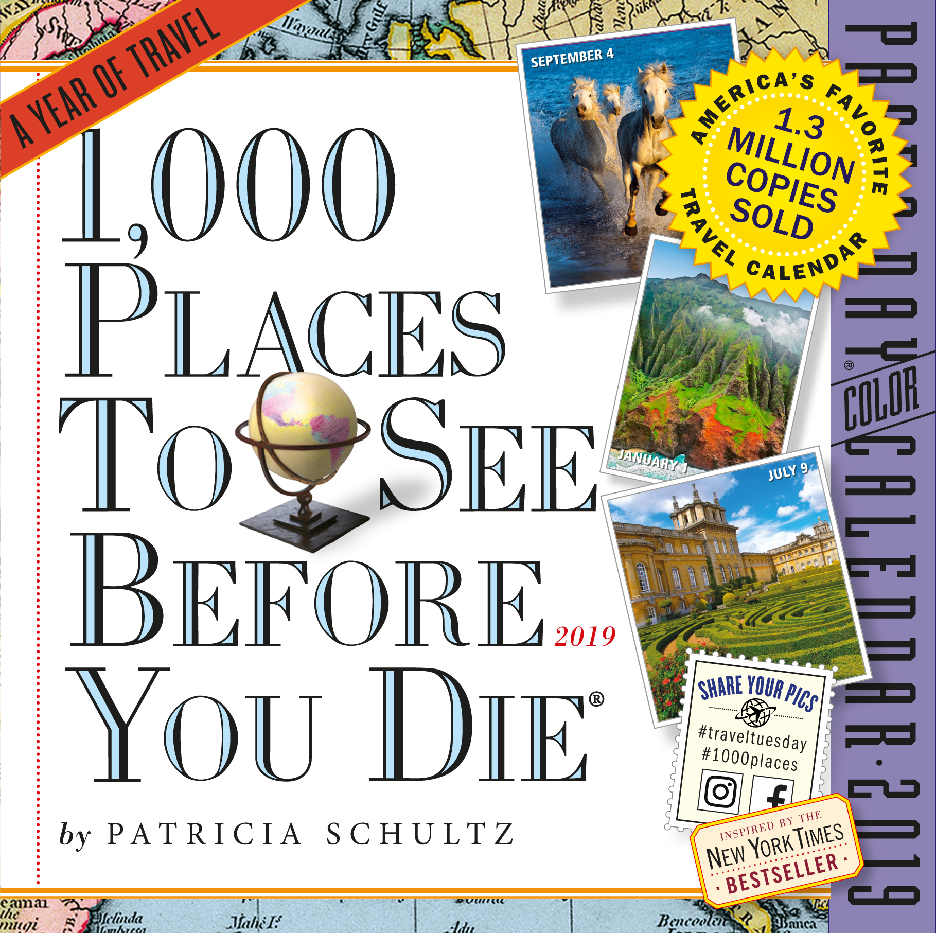 1,000 Places to See Before You Die Page-A-Day Calendar 2019