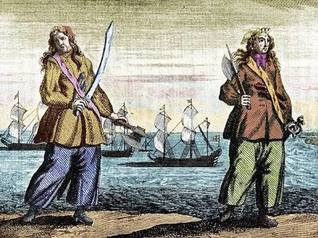 History's Famous Women Pirates & The Life of Mary Read & Anne Bonney from A General History of Pirates